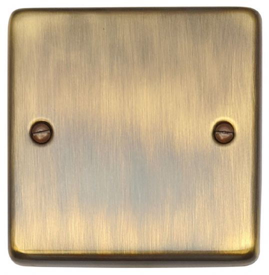 Standard Plate Antique Bronze